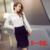 Novo 2016 Moda Feminina top Plus Size saco saia de renda quadril fino feminino ocupação Saia Para fotografar 158 H 25