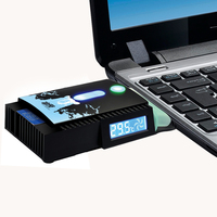 Pccooler Adjustable Mini USB Laptop Cooler Air Extracting Exhaust Cooling Fan CPU Cooler For Notebook Computer