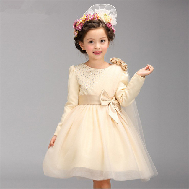 Baby Girl Pink Christening Gowns Kids Girls Wedding Dress girls ...