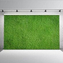 Mehofoto игровая площадка фон для фотосъемки зеленая трава фото фон для фотографов студия MW-131