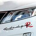 Inteligente dentro de palabras decoración pegatinas de coches y calcomanías para KIA Sportage RIO/SPORTAGE/CEED, fashion car styling etiqueta engomada del pegamento