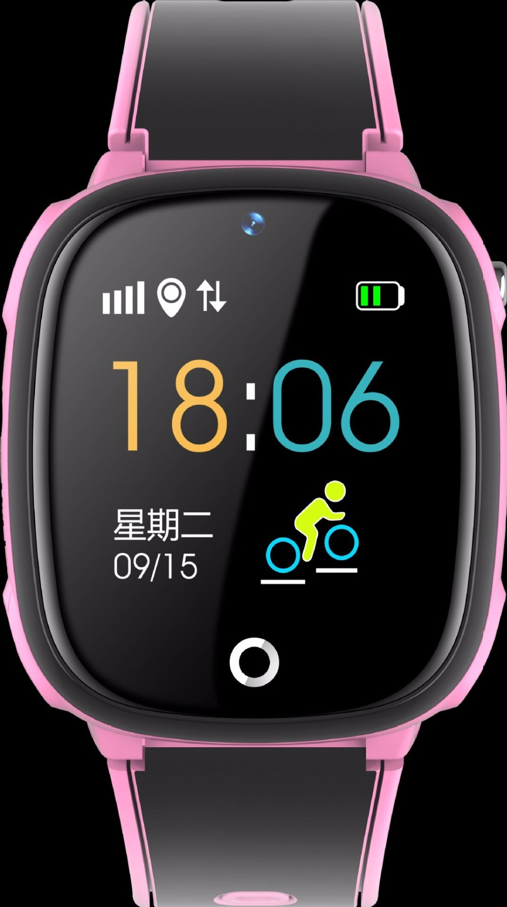 Kids Smart Watch with GPS Tracker Wearable Children\`s Connected Wrist Bracelet Sim Card Call Function Turkish Girl Digital-watch (13)