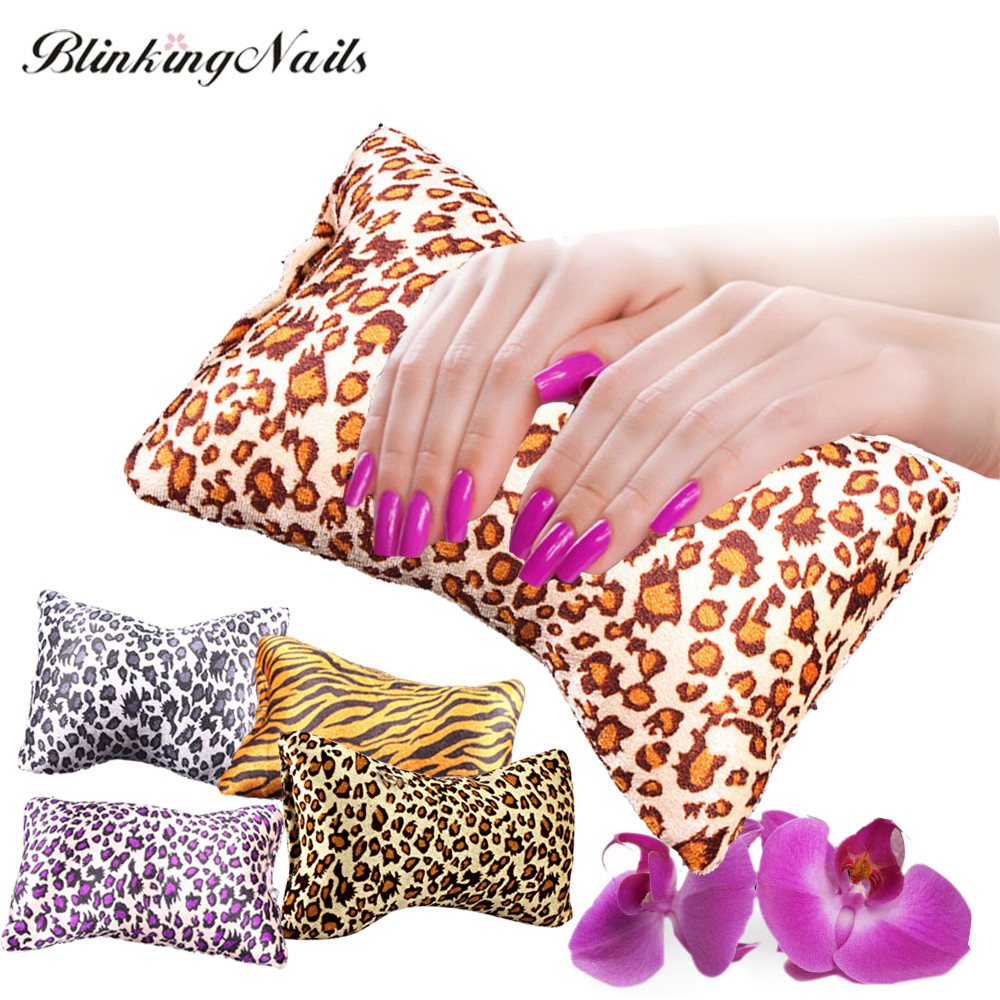 Soft Nail Art Pillow Hand Holder Sponge Cushion Armrest