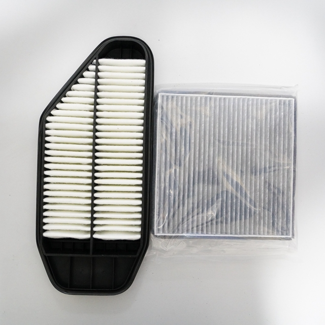 AIR FILTER + CABIN FILTER Kit For Chevrolet Spark Oem:96827723 94957328
