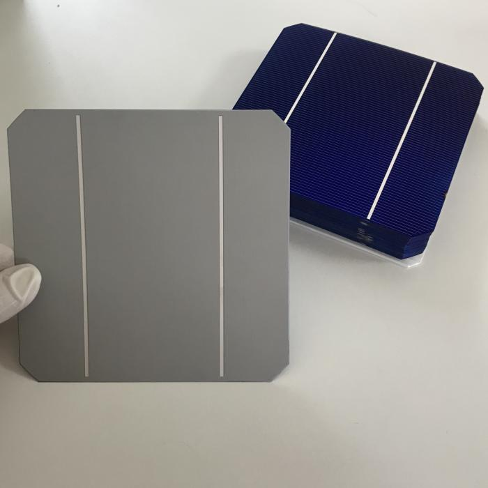 50pcs Monocrystalline soalr cells 3.07W/pcs 0.5V high quality A Grade 5x5 photovoltaic cell for Diy 12V 24V <font><b>solar</b></font> <font><b>panel</b></font> <font><b>150W</b></font> image