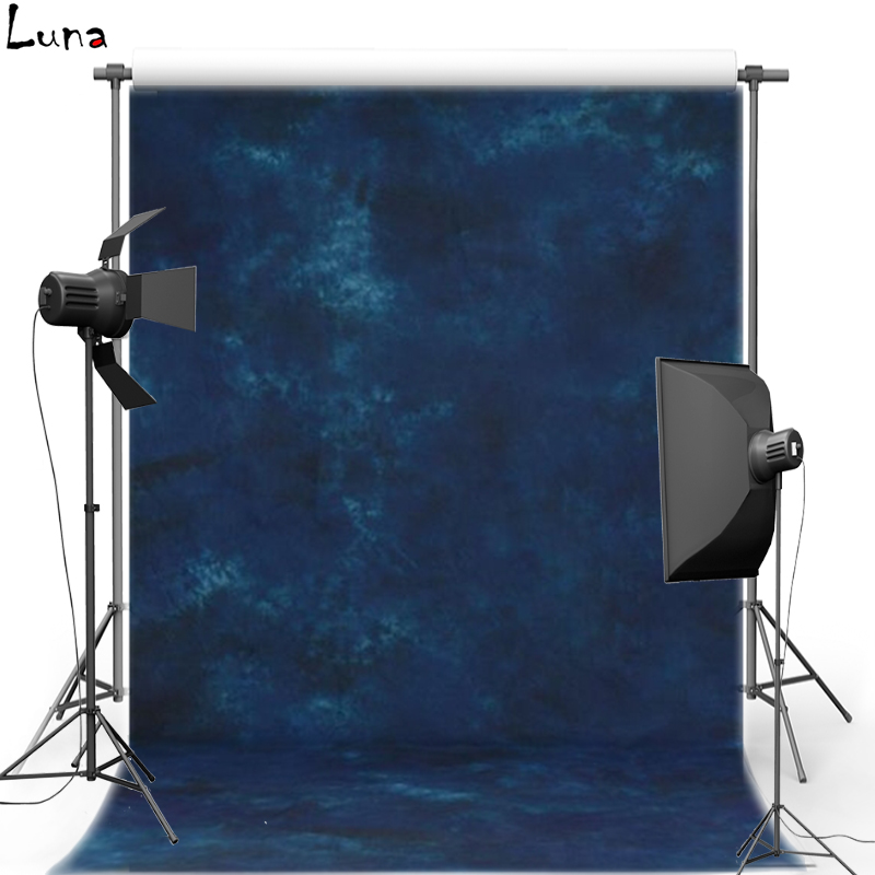 Pro Dyed Muslin photography background Hand Made Old master painting Dark Blue Backdrops for photo studio DM214 смартфон highscreen fest xl pro blue