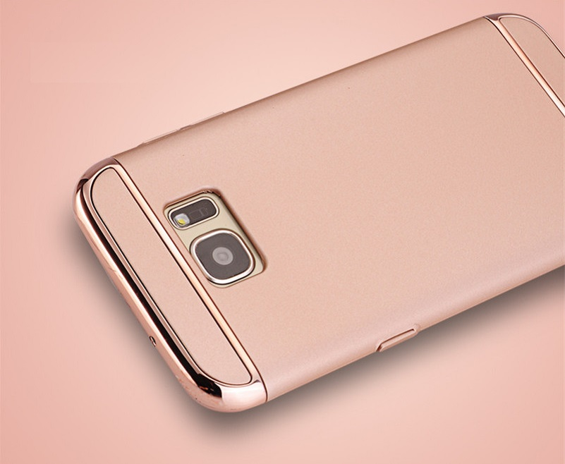 CONNICS Phone Case S7 S7 Edge for Women Men Electroplating Frame 3 in 1 Hard PC Back Cover For Samsung Galaxy S7  S7 Edge Cases (23)