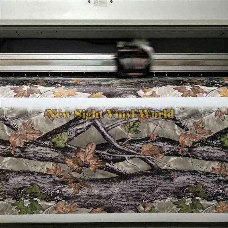 Лист REALTREE Камуфляж Виниловые упаковочные пленки природа Охота для грузовика джип Размер: 1,50*30 м/рулон