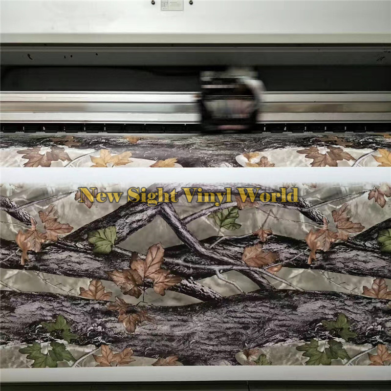 Feuille REALTREE CAMOUFLAGE vinyle emballage FILMS Nature chasse pour camion Jeep taille: 1.50*30 m/Roll