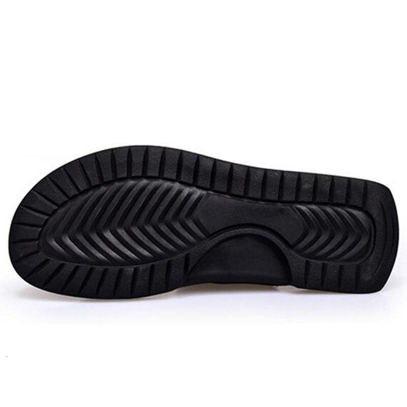 Hommes Non 6 t32 Nouveau Flops t32 Véritable Mode Cuir D'été Chaussures T32 9 Plat t32 Plage 2 Caoutchouc 1 Minika 8 Diapositives slip Pantoufles t32 En Flip 4n5qBYYw