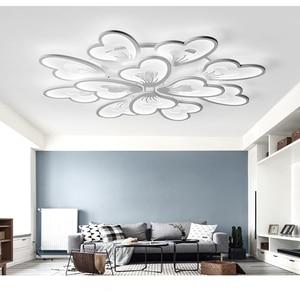 Image 2 - Moderne Led Kroonluchter App Met Afstandsbediening Acryl Lamp Voor Woonkamer Slaapkamer Keuken Thuis Kroonluchter Plafond