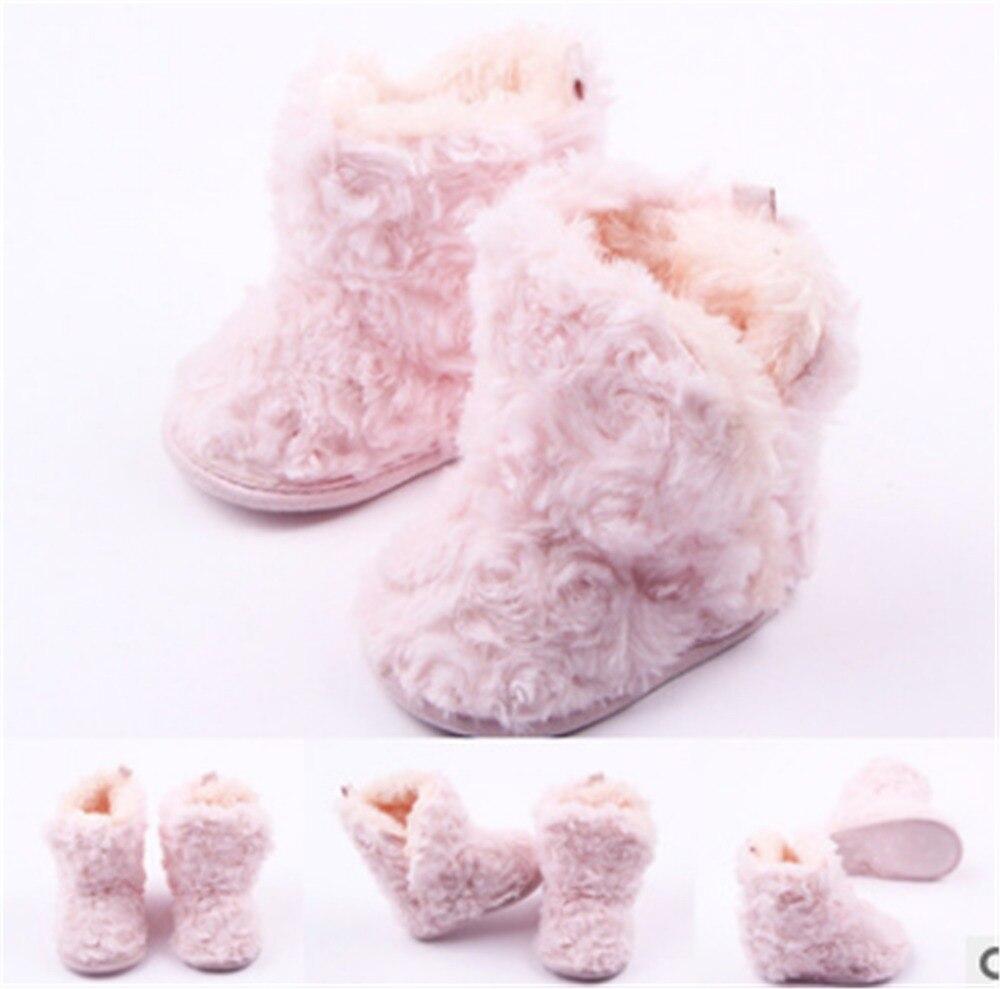 Rosa Baby Warme Schuhe Mädchen Schuhe Weiche Sohle Kinder Kleinkind Infant Stiefel Korallen Samt Booties Erste Wanderer Babyschuhe Mutter & Kinder Cx197b Ohne RüCkgabe