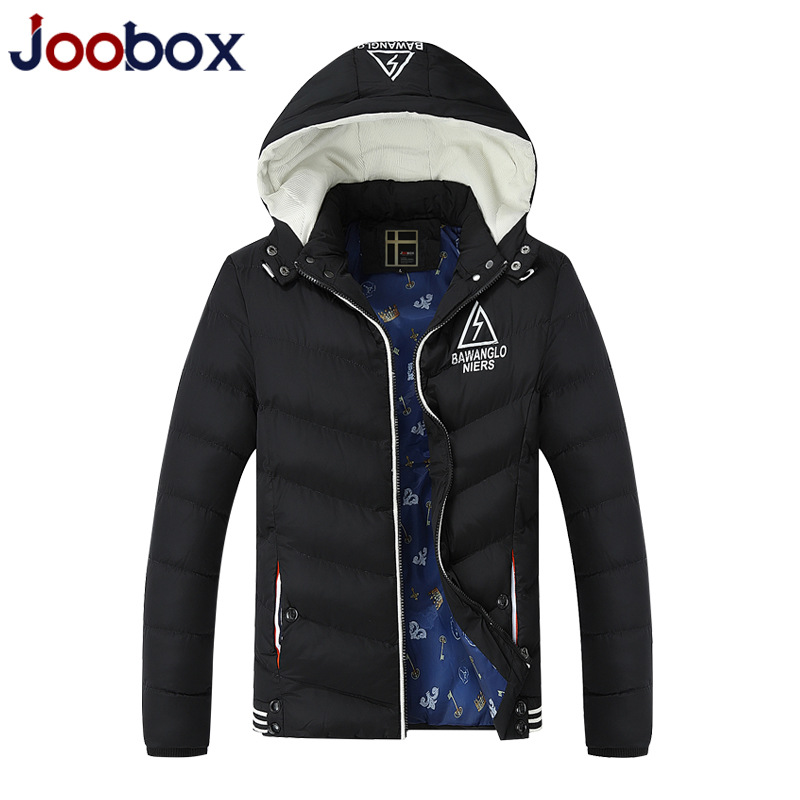 Thickening Warm Winter Jacket Men 2016 Hooded Slim Men Parka Brand Down Jacket Man Fashion Leisure Men Clothing