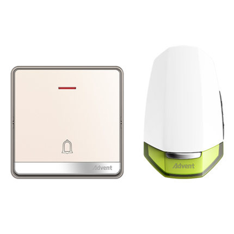 лучшая цена Self Powered Wireless Doorbell Household Long-distance Without Battery Intelligent Electronic Remote Control Doorbell F86-671P