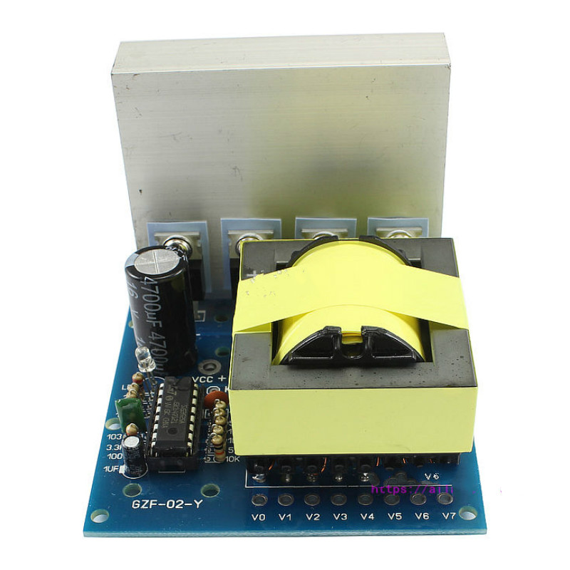 1pcs DC-AC 500W Converter DC12V To AC110V-220V-380V Inverter Board Preamplifier Module Pre-Booster Boards cxa p1212b wjl pcu p091b dc to ac converter high voltage circuit board