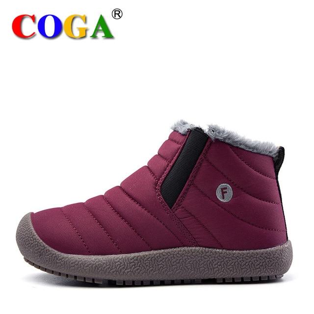 2018 new kids snow shoes for girls non-slip children s shoes cotton shoes  snow boots b4c98ffc9d60