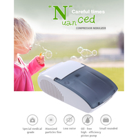 Carevas Compressor Nebulizer Portable Compact Vaporizer Compressor System Children Adult Relief Respiratory