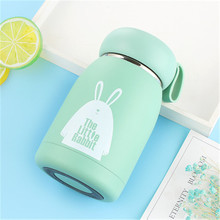 Creative 304 Stainless Steel Childrens Mug Cute Portable Gift Cup Student Water Cartton Rabbit Vacuum Flask