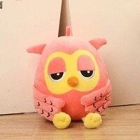 38 cm owl plush toy lovely owl doll gift b5676