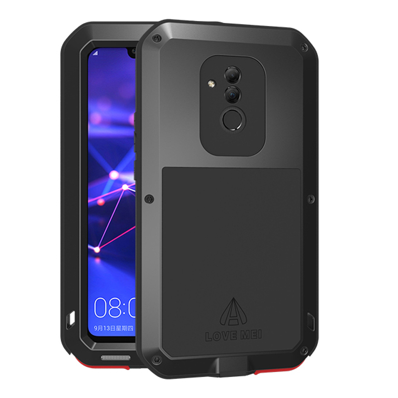 Aluminum Metal Armor Case For Huawei Mate 20 Lite Case Shockproof 360 Rugged Full Body Cover Huawei Mate 20 Lite Mate20 20Lite  Aluminum Metal Armor Case For Huawei Mate 20 Lite Case Shockproof 360 Rugged Full Body Cover Huawei Mate 20 Lite Mate20 20Lite