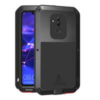 Aluminum Metal Armor Case For Huawei Mate 20 Lite Case Shockproof 360 Rugged Full Body Cover Huawei Mate 20 Lite Mate20 20Lite
