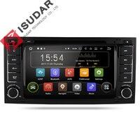 Isudar Автомагнитола2 din с 7 дюймовым экраном на Android 7.1.1 для VW/Volkswagen/Touareg 4 ядра Canbus Wifi Bluetooth FM радио