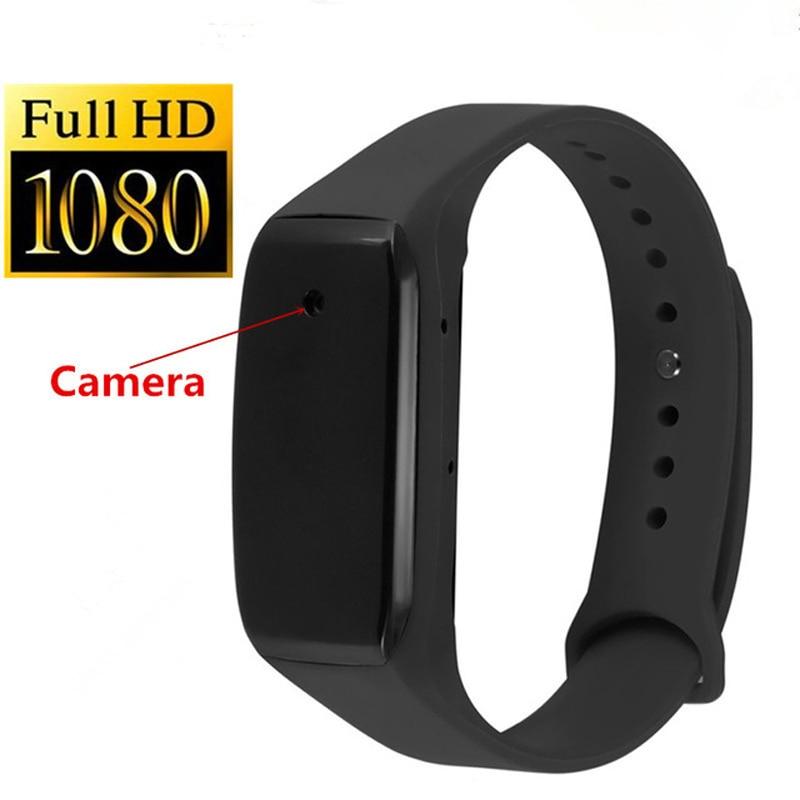 Sports Wearable Smart Camera HD 1080P Mini Camera Wristband Video Recorder Voice Record Micro Camera Wearable Device Micro Cam