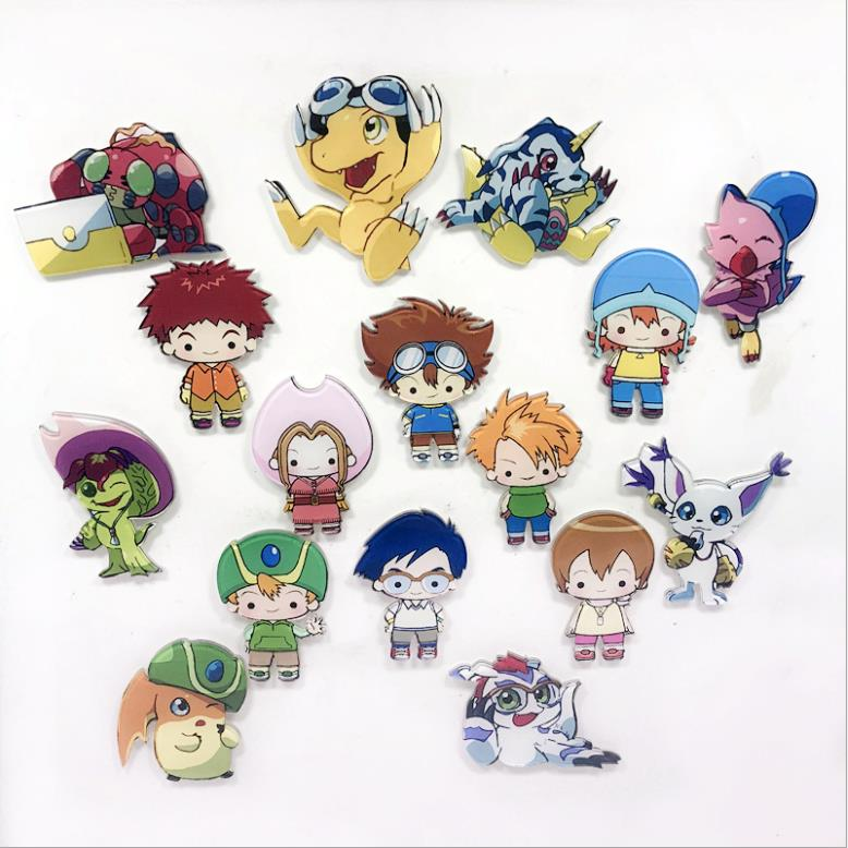 Digimon Adventure Digital Monster Courage Friendship Love Hope Evolution Badge Magnetic Pendant Necklace Rope Collection Gift Buy At The Price Of 2 95 In Aliexpress Com Imall Com