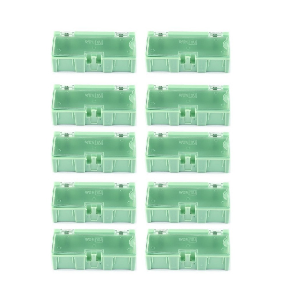 Mini SMD SMT Electronic Box IC Electronic Components Storage Cases 125x63x21mm