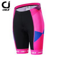 CHEJI New Pink Bicycle Womens Padded Shorts Cycling Short Tights With GEL Pad S XXL