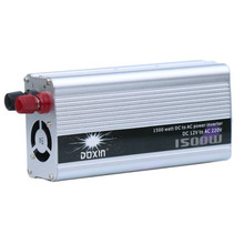 Modified Sine Wave Inverter DC 12V to AC 220V 1500W with Universal Socket USB Port for Car Solar Power Inverter(China)