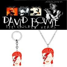 Groupe de Rock chanteur Aladdin Sane collier David Bowie pendentif collier Fans bijoux Colar
