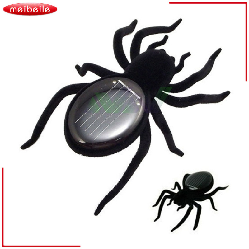60X86X22mm Solar Spider Tarantula Educational Robot Scary Insect Gadget Trick Toy Solar Toy juegos solares Kids Toy Robot Toy