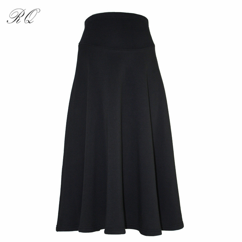 RQ New Fashion Women Short Maternity Skirts pack Skirt Waist Skirt Large size KZ11 dabuwawa autumn women fashion sexy plaid skirt elegant mini pleated skirt short streetwear asymmetrical skirt d17csk031 page 1