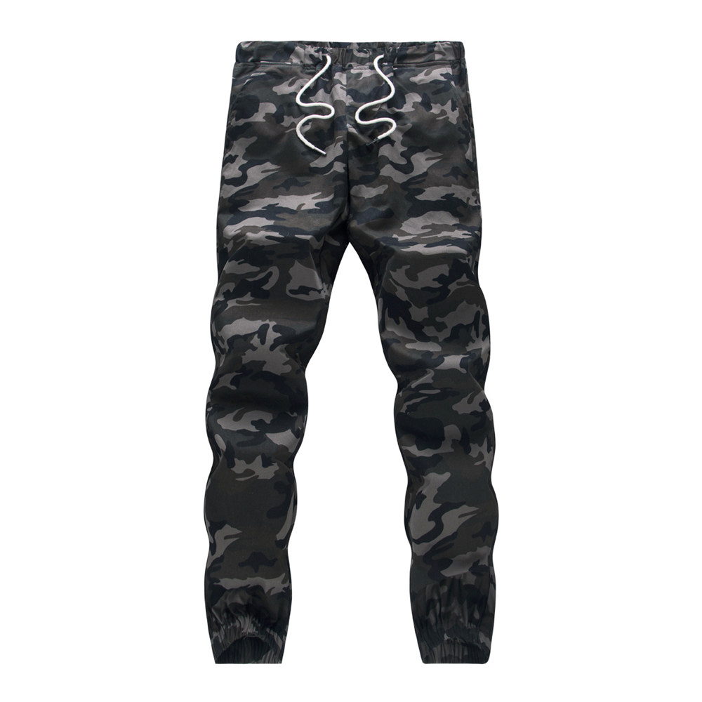 Cotton Mens Jogger Autumn Pencil Harem Pants 2020 Men Camouflage Military Pants Loose Comfortable Cargo Trousers Camo Jogger 13