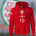 Wales nation team hoodies mens sweatshirt sweat suit streetwear tracksuit footballer sporting country Cymru Welsh Cymry WLS 2017