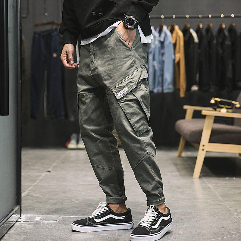 X-Future Womens Color Block Stylish with Pockets Elastic Waist Hip Hop Casual Pants