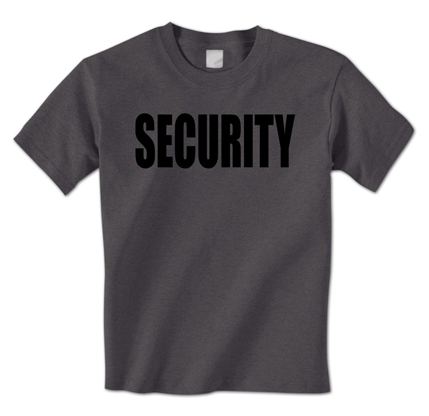 Black t shirt security - Mens T Shirt Security Classic Staff Bouncer Night Club Bar Protection Enforcer Mens T