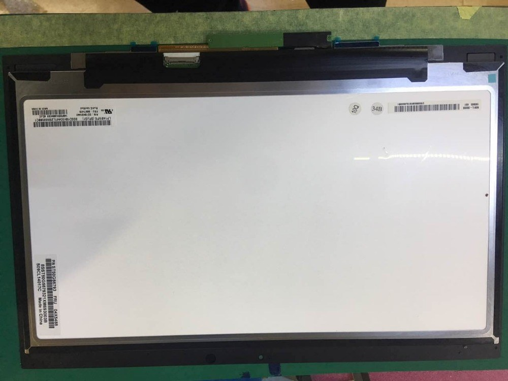 Écran tactile d'affichage à cristaux liquides de 14 pouces de GrassRoot pour Lenovo Thinkpad X1 Yoga FRU: 00UR190 LED LCD 14