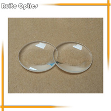 2pcs 42 Diameter K9 Optical Glass Focal Length 65mm Double Convex Lens For 3D VR Glasses DIY VR BOX