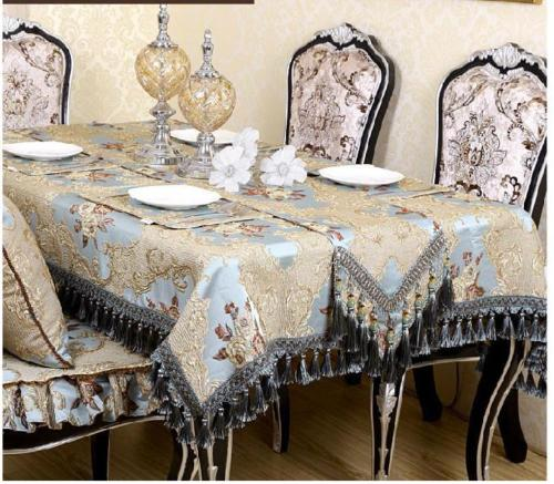200 33cm Chinese Vintage European Style Luxurious Handmade Brocade Sky Blue Table Runner Bed Flag In Runners From Home Garden On Aliexpress