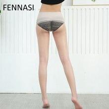 dc2424238 FENNASI Mulheres Ultrafinos Transparente Meia-calça Sexy Women Fina e Transparente  Meias Pretas Nylons Senhora