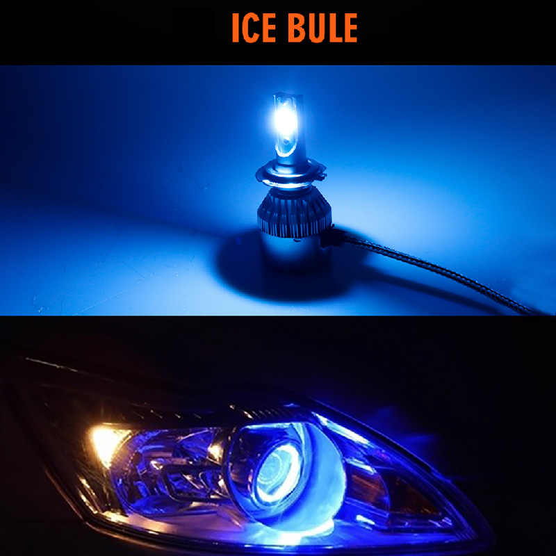 CARLitek Ice Blue Led H7 H11 H9 H8 9005 9006 Car Headlight Bulb 8000LM Auto Headlamp Led Turbo Bombilla Fog Lights Car-Styling