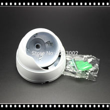 HKES Outdoor Indoor Metal IR Dome cctv camera housing White for Security CCTV 48pcs IR LEDs Dome IP Vandalproof Outdor Indoor
