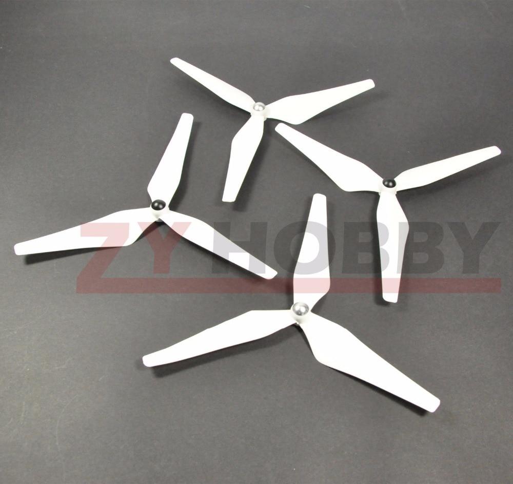2 Pairs 9450 3 Blades Propeller För Phantom 1 & 2 Vision Whtie Color