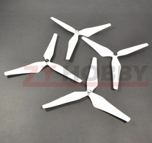 2 Pairs 9450 3 Blades Propeller For Phantom 1&2 Vision Whtie Color