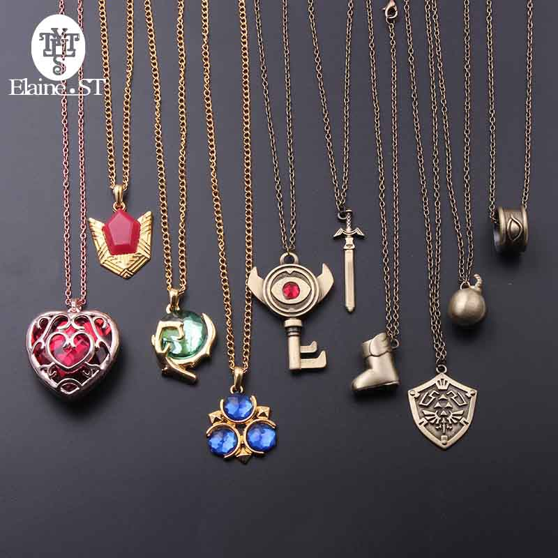 SWAOOS Stainless Steel Gold Color Turkey Map Flag Pendant Necklace for Women Men Turks Heart Chain Jewelry