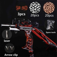 powerful Elastic Hunting Fishing Slingshot Shooting Catapult Bow Arrow Rest Bow Laser Catapult Crossbow Bolt Shooting Fish