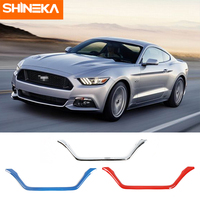 SHINEKA Car Stickers For Ford Mustang 2015 2016 Car Exterior Rear view light Decoration Stickers Accessories For Ford Mustang