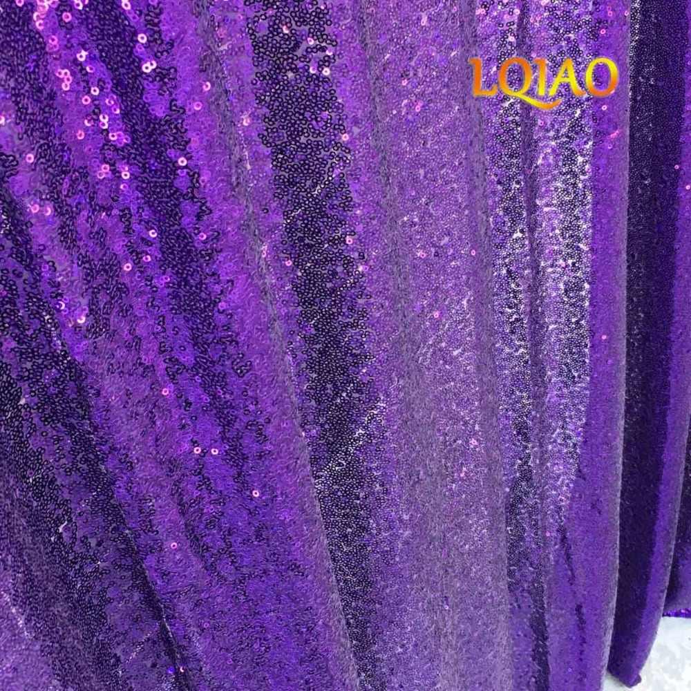 Идеально 4FTx7FT Фиолетовый блесток фон ткани Photobooth фон золотые свадебные Шторы на Рождество/Свадебные украшения